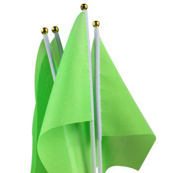 Hot Sale Kindergarten Exercises Activities Sports Meet Props Green Small Flag -  LIGHT GREEN