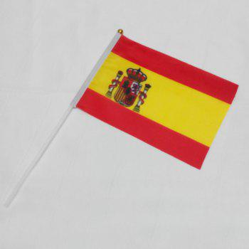 Hot Sale Olympic Games Fans World Countries Banner Spain Hand Small Flags