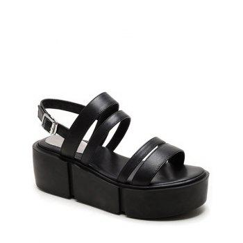 Casual Platform and Solid Color Design Sandals For Women
