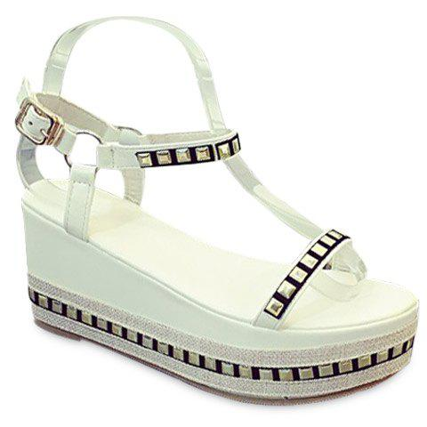 Leisure Rivets and Platform Design Women's Sandals