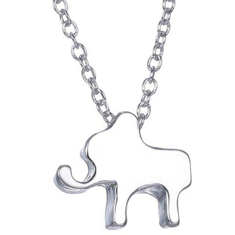 Chic Elephant Pendant Necklace For Women