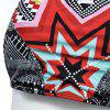 Ethnic Style Geometrical Print Halter Bikini Set For Women - WHITE S