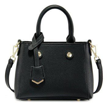 Charming Pendant and Solid Color Design Women's Tote Bag