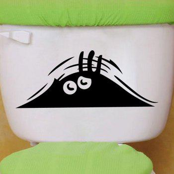 Eye Pattern Toilet Sticker For Bathroom Decoration