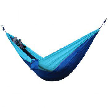 High Quality Portable Home Garden Outdoor Camping Parachute Fabric Color Matching Hammock
