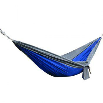 High Quality Portable Outdoor Camping Home Garden Parachute Fabric Color Matching Hammock