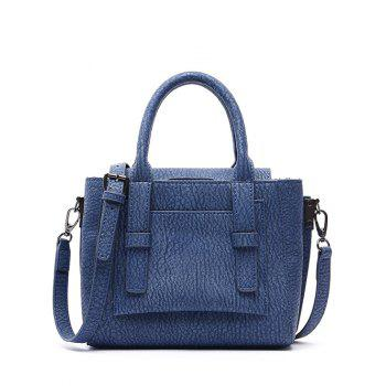 Fashionable Straps and Solid Color Design Tote Bag For Women