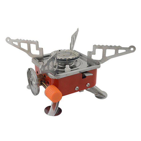 High Quality Outdoor Camping Picnic Supplies Square Shape Gas Stove with Electronic lighter high quality shakeproof outdoor camping picnic supplies folding egg storage box for 4 eggs