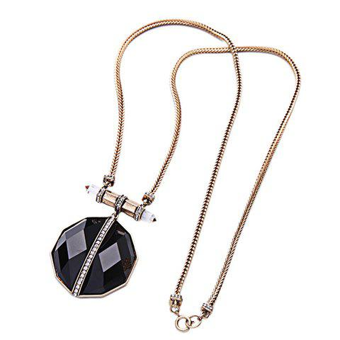 Graceful Rhinestone Artificial Gem Necklace For Women