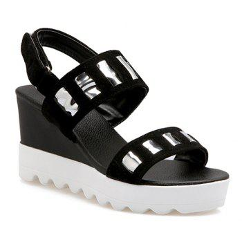 Trendy  and Wedge Heel Design Women's Sandals