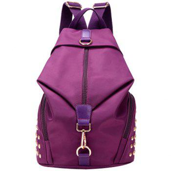 Nylon Design Satchel For Women