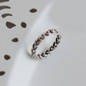 Twisted Opening Ring