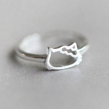 Kitten Shape Ring