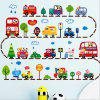 Fashionable Staff Toys Cartoon Animal Car Wall Stickers For Children's Room - COLORMIX