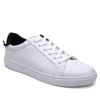 White Design Casual Shoes For Men