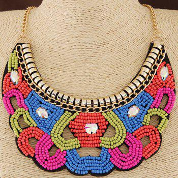 Hollow Out Beads Necklace