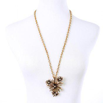 Chic Faux Pearl Tree Branch Shape Embellished Women's Necklace