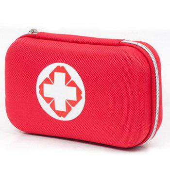 Portable 18 types / Kit Paquet Camping Voyage Médical Pack Traitement Set First Aid - Rouge