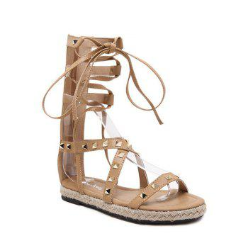 Rome High Top and Rivet Design Sandals For Women