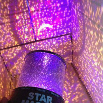 Novelty Amazing Colorful Starry Star Master Gift Led Night Light Projector Lamp -  COLORMIX