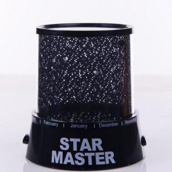 Romantic Super Bright LED Multicolor Starry Star Master Gift Projector -  COLORMIX