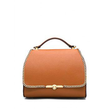 Retro Chains and Solid Color Design Tote Bag For Women