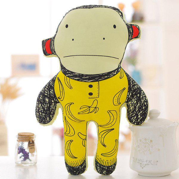 Sweet 40CM Super Soft Pillow Doll Cartoon Monkey Shape Children's Plush Toy new hot 22cm sexy in solitude where we are least alone kasugano sora action figure toys collection doll christmas gift with box