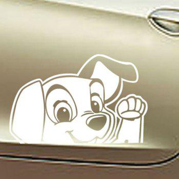Chic Waterproof Puppy Pattern Car Sticker For Automotive Decorative Supplies