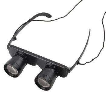 High Quality 3x28 Multifunctional Outdoor Fishing Football Game Binoculars Glasses -  BLACK