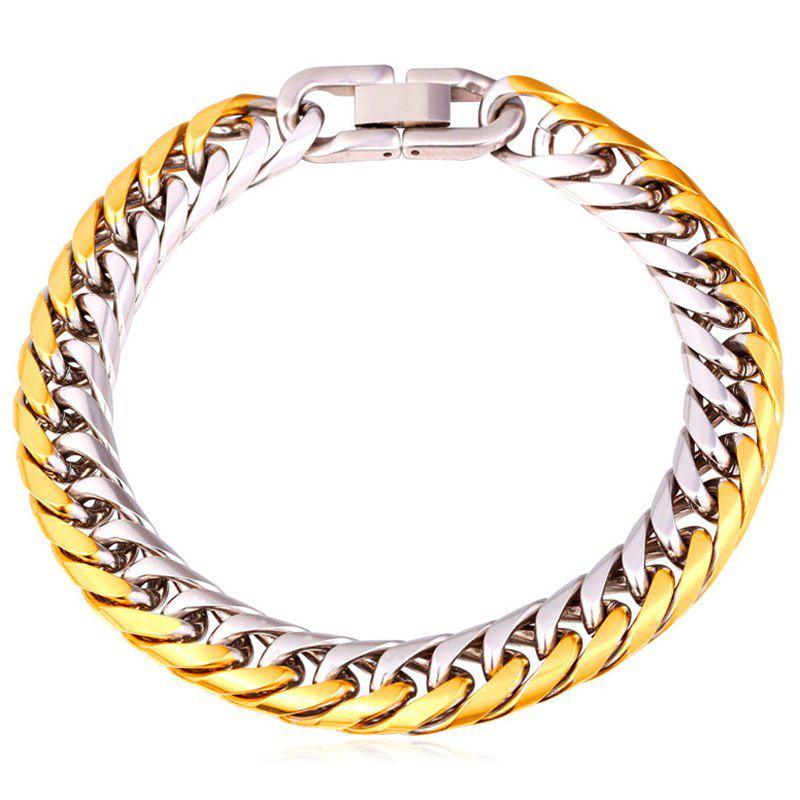 Chic Mix Color Stainless Steel Bracelet For Men - COLORMIX