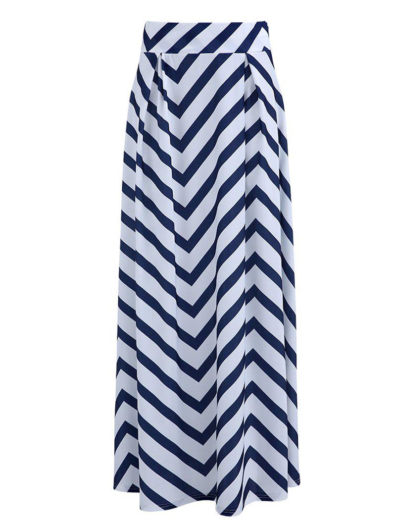 Fashionable Zig Zag High-Waisted Women's Skirt
