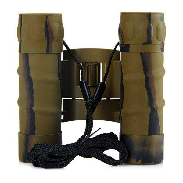 Hot Sale 12x25 Waterproof Outdoor Survival Camping Randonnée Camouflage Couleur Night Vision Jumelles - Camouflage