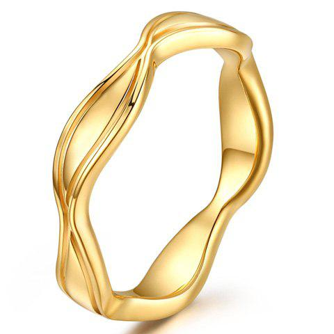 ONE PIECE Irregular Shaped Alloy Ring - GOLDEN