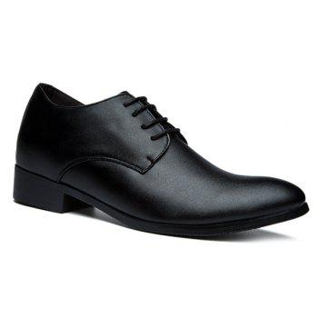 Fashionable Lace-Up and Black Color Design Men's Formal Shoes