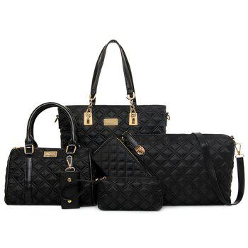 Fashion PU Leather and Ruched Design Shoulder Bag For Women