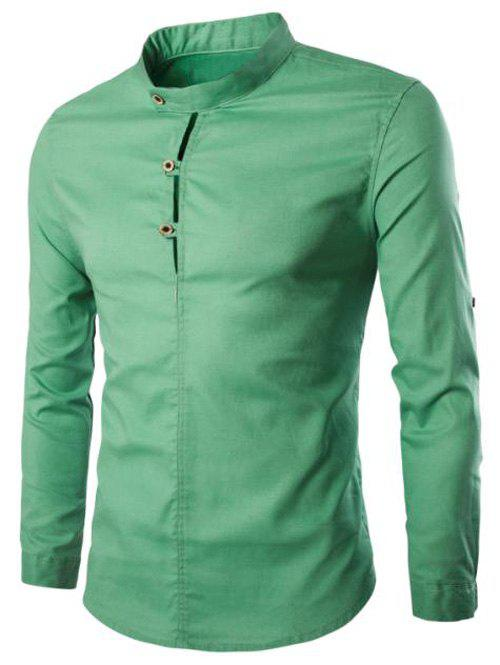 Men's Casual Solid Color Pullover Shirts