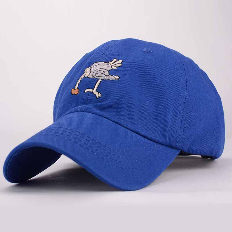 Stylish Cartoon Ostrich Embroidery Cool Summer Men's Baseball Cap
