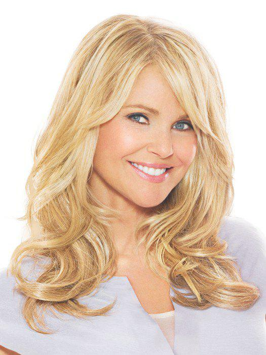 Women's Charming Human Hair Side Bang Curly Wig - COLORMIX