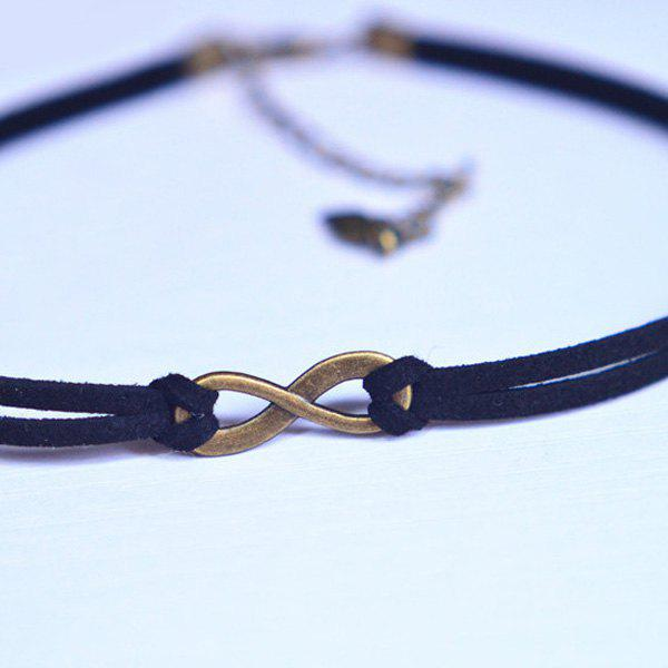 Hollowed Infinity Choker - BLACK