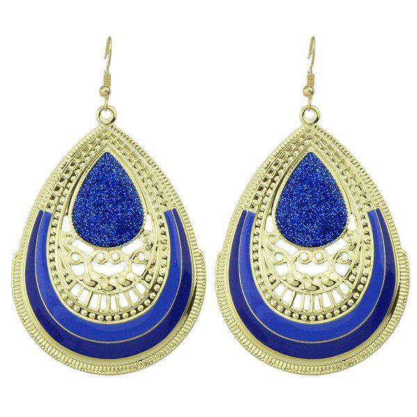 Stunning Openwork Water-Drop Shape Bohemia Earrings