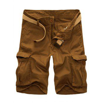 Casual Loose Fit Multi-Pockets Men's Cargo Shorts