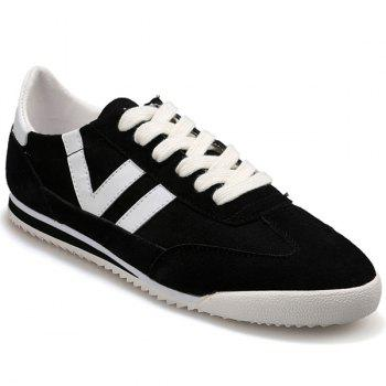 Fashionable Splicing and Hit Color Design Men's Casual Shoes