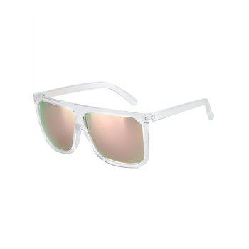 Chic Big Quadrate Frame Transparent Sunglasses For Women
