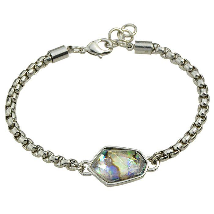 Retro Multilayer Bead Bracelet For Women - SILVER