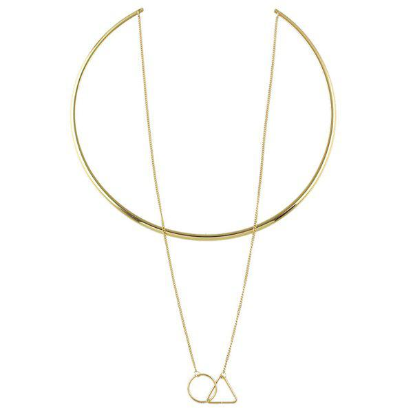 Chic Multilayered Geometric Necklace For Women
