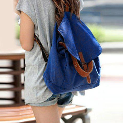 New Arrival Casual and Laconic Covered Sacking Backpack For Female
