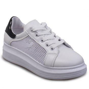 Casual Mesh and Splicing Design Women's Sneakers