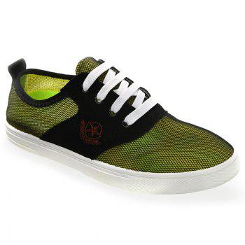 Fashionable Splicing and Mesh Design Men's Casual Shoes