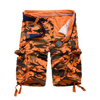 53 Off 2019 Loose Fit Multi Pockets Camo Printed Men S