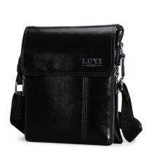 Simple Letter and Solid Color Design Men's Messenger Bag